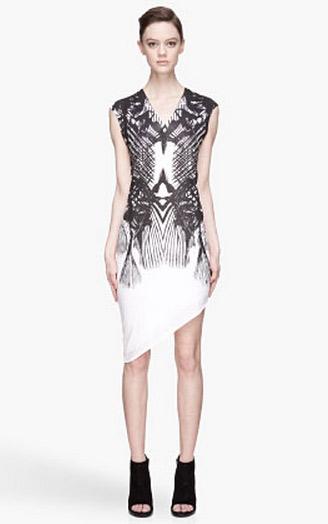 Spiny Fish Print Dress